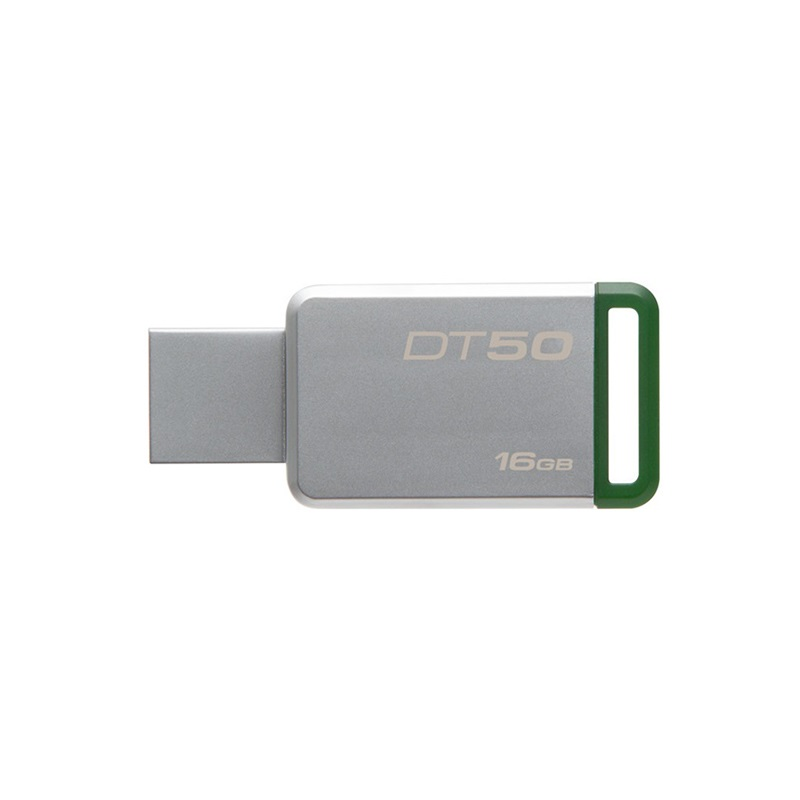Pendrive KINGSTON DT 50 USB 3.0 16GB zöld