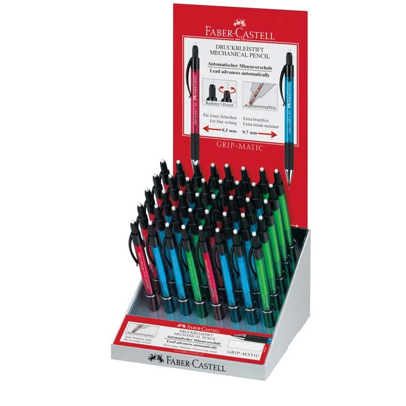 Pix iron Faber-Castell Grip Matic 1375/1377 40-es display
