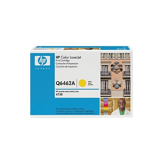 TONER HP 644A (Q6462A) YELLOW 12K
