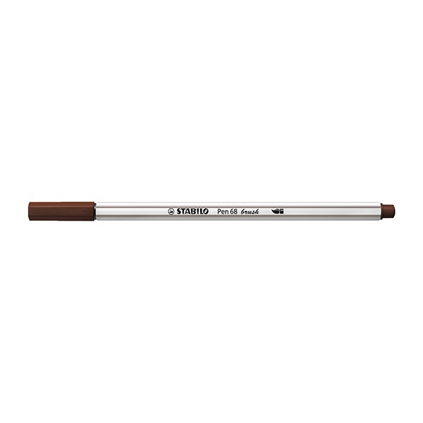 Ecsetfilc STABILO Pen 68 Brush barna