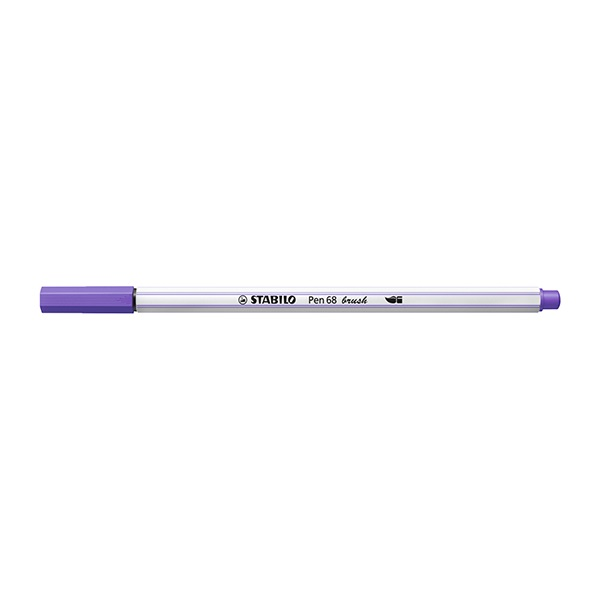 Ecsetfilc STABILO Pen 68 Brush ibolya