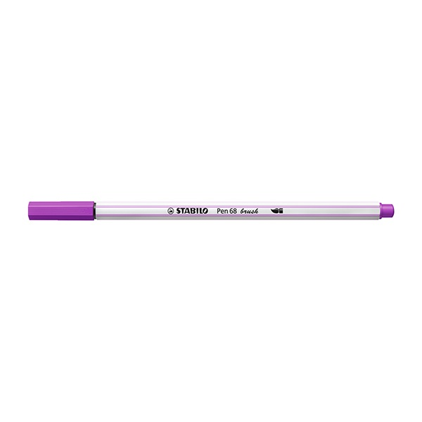 Ecsetfilc STABILO Pen 68 Brush lila