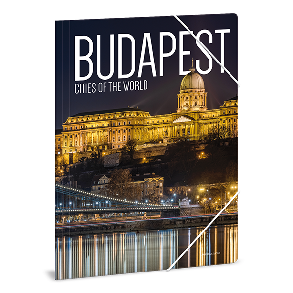 Gumis mappa ARS UNA A/4 Cities-Budapest