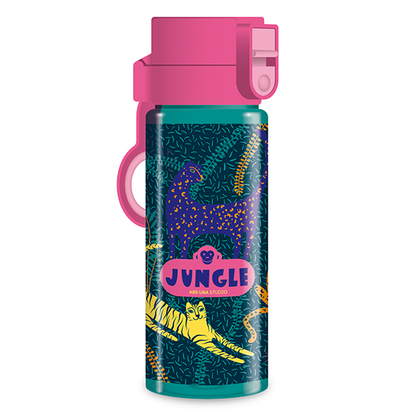 Kulacs ARS UNA műanyag BPA-mentes 475 ml Jungle