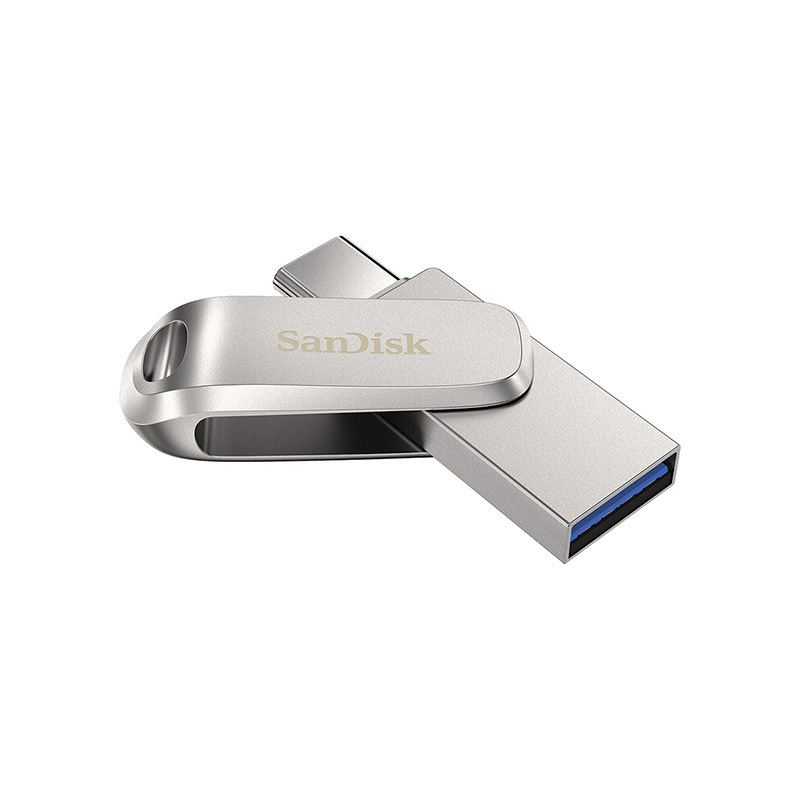Pendrive SANDISK Ultra Dual Drive Luxe USB 3.1 + USB Type-C 256 GB