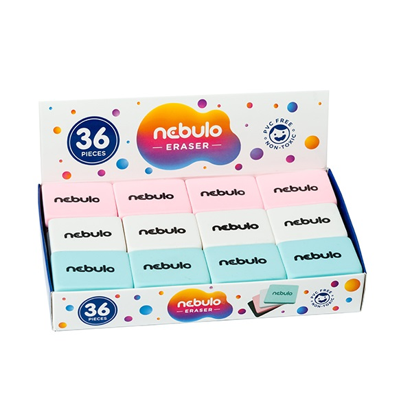 Radír NEBULO 36 db/display