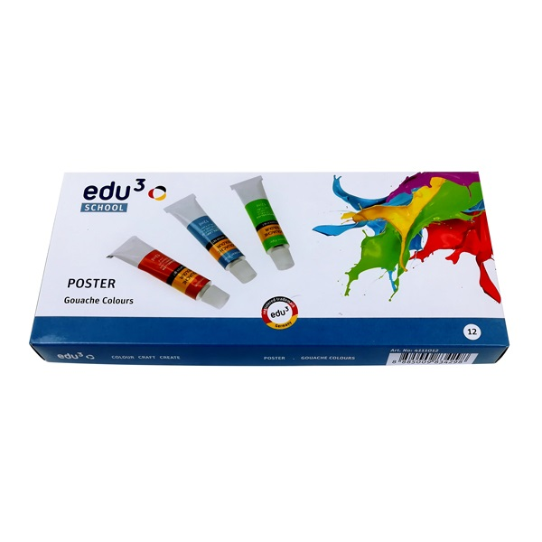 Tempera EDU3 12-es tubusos 12 ml