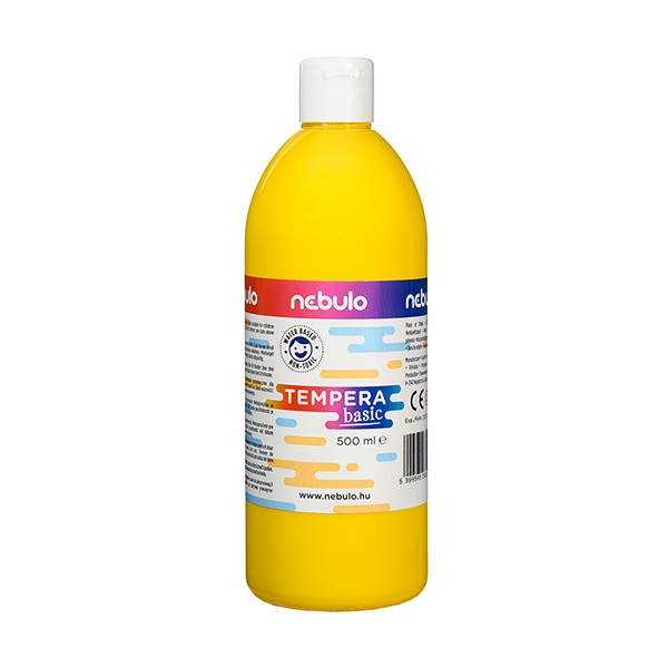 Tempera NEBULO 500 ml sárga